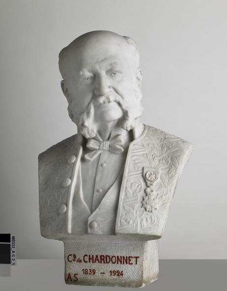 Buste Chardonnet-musée de Besançon