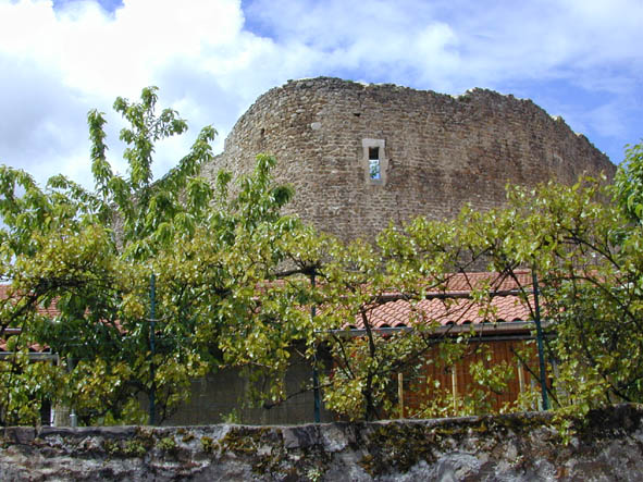 Vieux château-vue de chez Felissent -(2004-05-06) pf