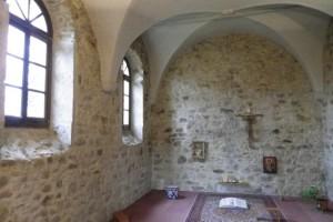 La chapelle Bernou (intérieur)