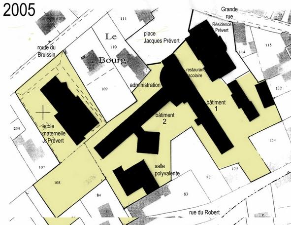 06-01-Le Bourg-plan-(2005)-légendé