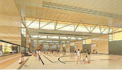 07-01-équipements sportifs-Gymnase-intérieur