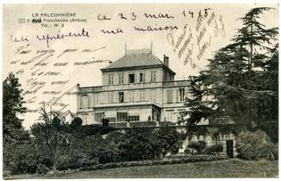 10-06-Falconnière21-2ème façade, véranda et orangerie-CP -(1915-05-23)