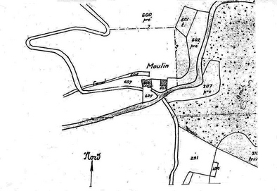 12-01-02-moulin du Gôt-plan parcellaire(avant 1962)