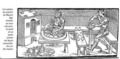 12-02-potiers et tuiliers-Atelier Moyen-âge